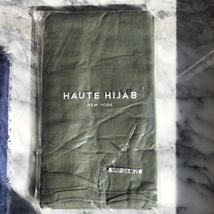 "Modal Maxi Hijab Thyme 78""x39"" Green Modal"